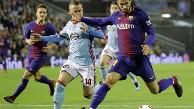 Barcelona eliminó a Celta y Suárez marcó un gol