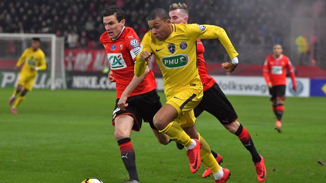 Rennes retrouvera le PSG, Montpellier défiera Monaco
