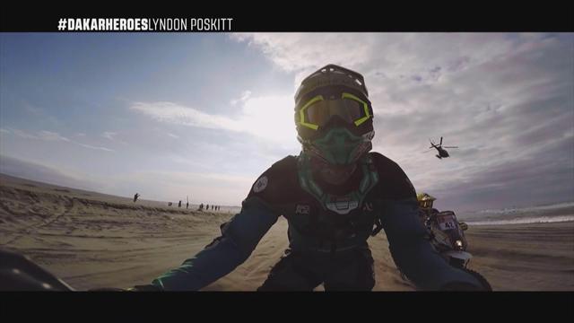 Héros du Dakar : Poskitt, Esteve, Van de Langenberg on board