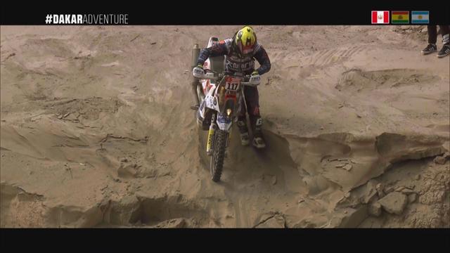 Le Dakar ou le dur apprentissage des dunes