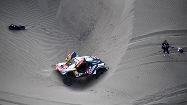 Loeb suffers dune disaster as 'Mr Dakar' increases rally lead