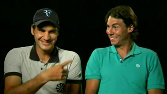Federer: Nadal made me laugh and I couldn't stop - it lasted 20 minutes!