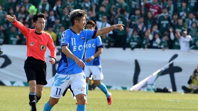 Genova. Kazuyoshi Miura gioca ancora a 51 anni