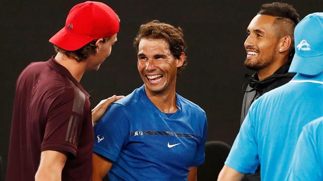 Nadal cae en la final del Tie Break Tens pero deja buenas sensaciones para el Open de Australia