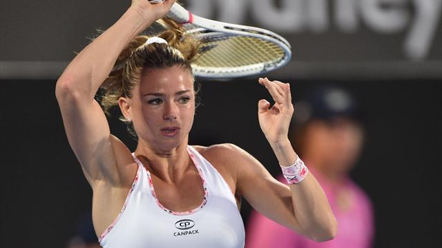 Qualifier Giorgi ousts Radwanska to set up Kerber clash