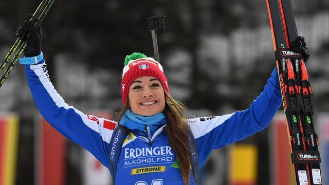 Dorothea Wierer, sei la storia! Trionfo nella 15 km ed è l'azzurra più vincente nel biathlon