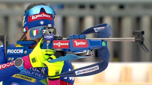Wierer victorious again in Ruhpolding
