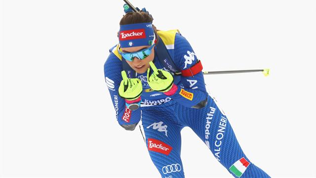 Wierer on top once again in Ruhpolding with historic success