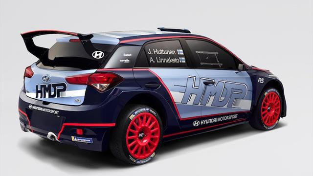 Voici la nouvelle voiture du promu de l'ERC Junior, Huttunen