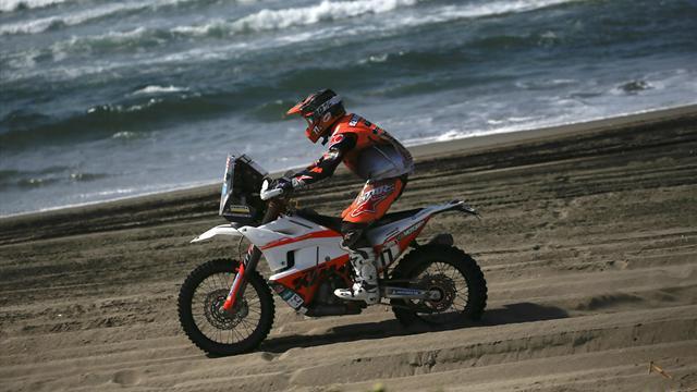 Benavides es el nuevo líder del Dakar en motos