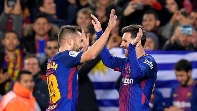 Une manita et le Barça file en quarts