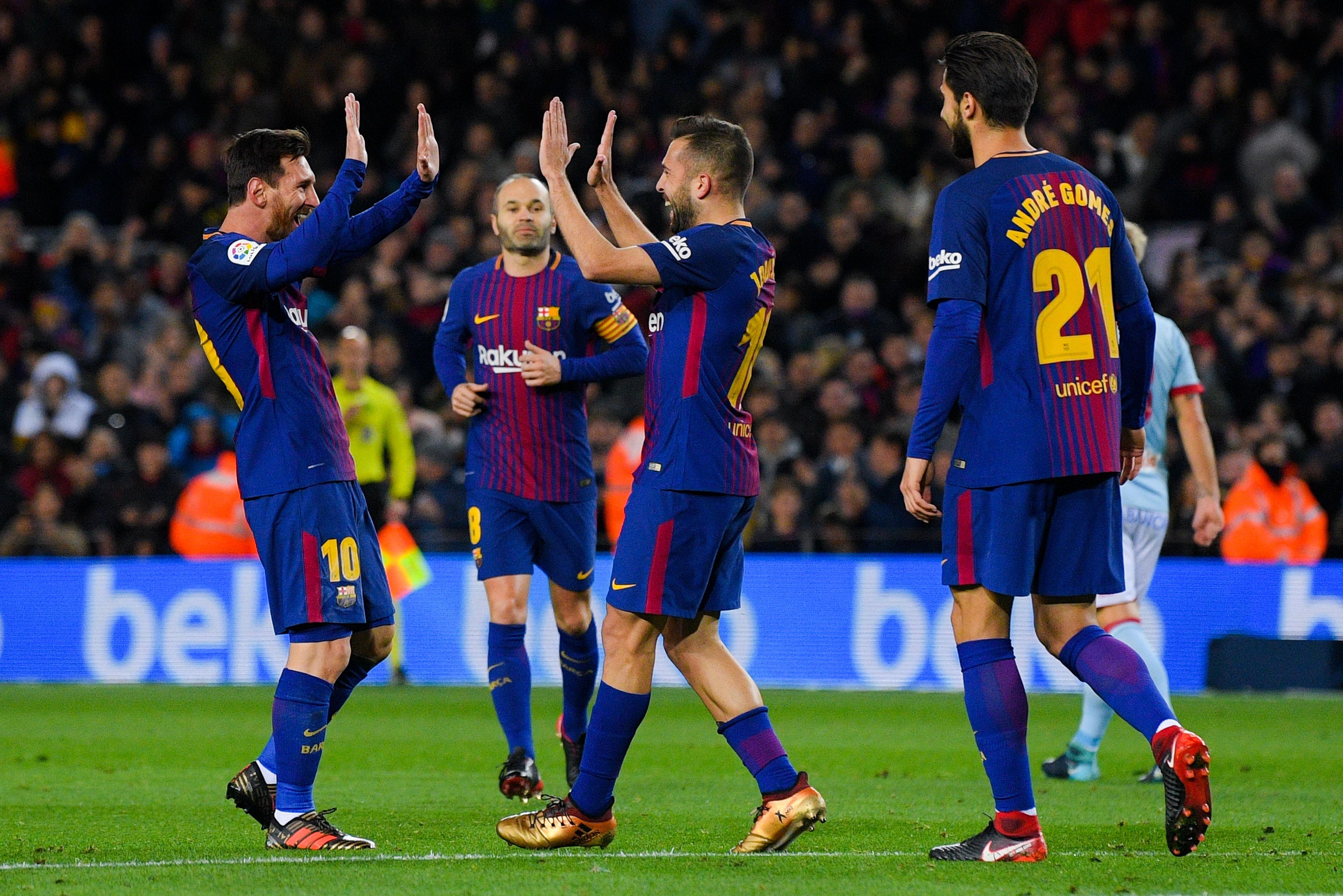 Lionel Messi a ouvert la voie au Barça contre Vigo