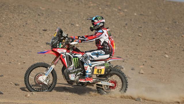 Se reanuda la competencia del Dakar tras la suspensión