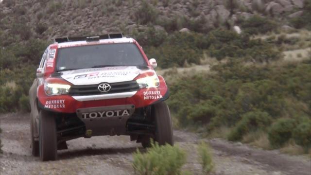 Tappa 6 auto: la prima frazione boliviana è di Sainz, tra sabbia e neve
