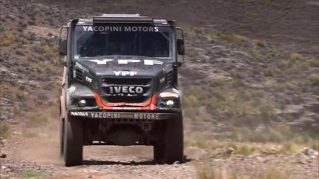 Trucks: Villagra wins, Nikolaev holds top spot