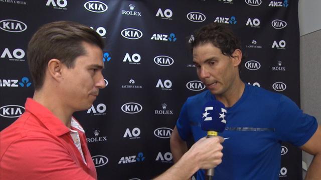 """Open Australia 2018, Nadal tras ganar a Thiem en una exhibición: """"Estoy contento, ha sido positivo"""""""