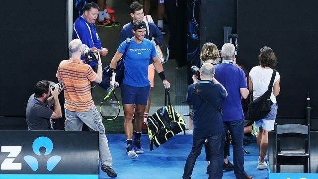 Open Australia 2018: Nadal supera a Thiem en un partido de exhibición en Melbourne (6-7, 6-2 y 10-8)
