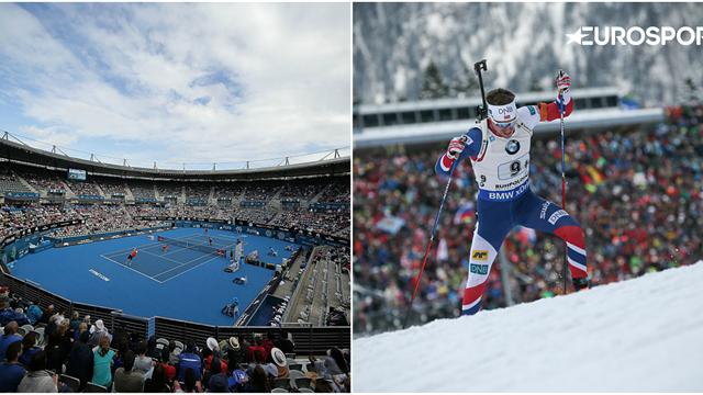 Sporturi de iarnă din Europa și tenis din Australia în direct, astăzi pe Eurosport 1