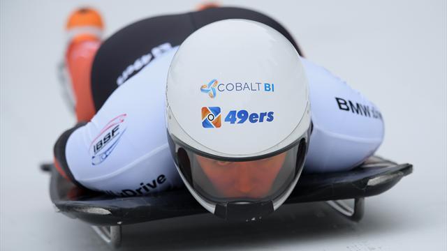 Olympische droom skeletonpionier Bos onzeker na dramatische race