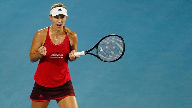 Kerber poursuit sa route en finale à Sydney