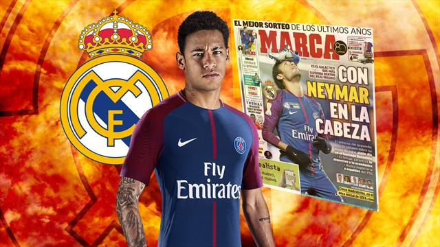 Euro Papers: Real Madrid return to 'galacticos' era with €400m pursuit of Neymar
