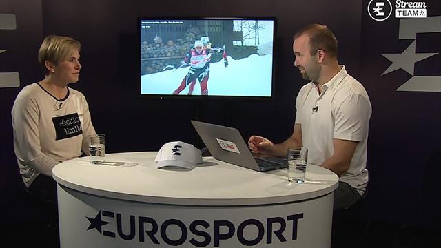 Kateřina Neumannová byla hostem Stream teamu Eurosportu