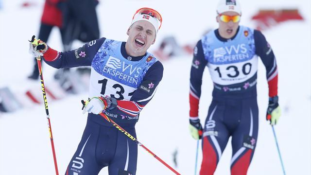 Tok sitt første NM-gull etter maktdemontrasjon: – Tror jeg kan vinne distansen i OL