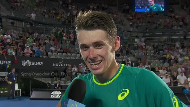 De Minaur: 'The crowd picked me up and got me over the line'