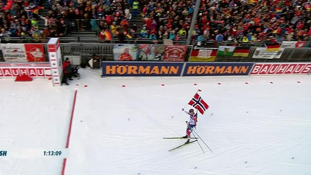 Norway's men bounce back to win in Ruhpolding