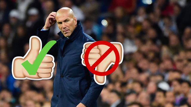 LaLiga, Real Madrid-Villarreal: Zidane, siempre positivo, nunca negativo (16:15)