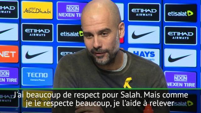 Quand Salah est comparé à Messi, ça fait réagir Guardiola