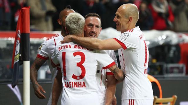 Ribéry et le Bayern redémarrent du bon pied