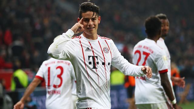 James-Traumtor als Schlusspunkt: Bayern beendet schwarze Serie