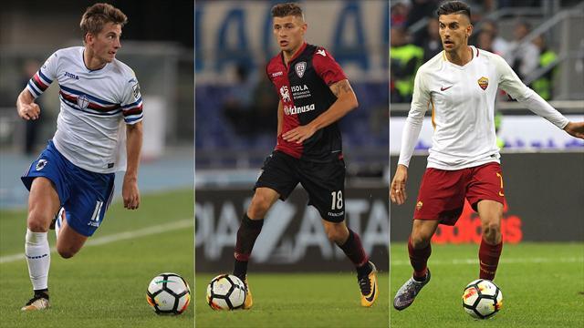 Juventus, non solo Emre Can. Praet, Barella, Pellegrini: chi è la giovane mezzala giusta per giugno?