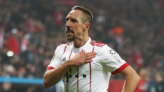 Ribéry : «Rester au Bayern aussi longtemps que possible»