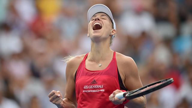 Kerber issues Australian Open warning with Sydney triumph