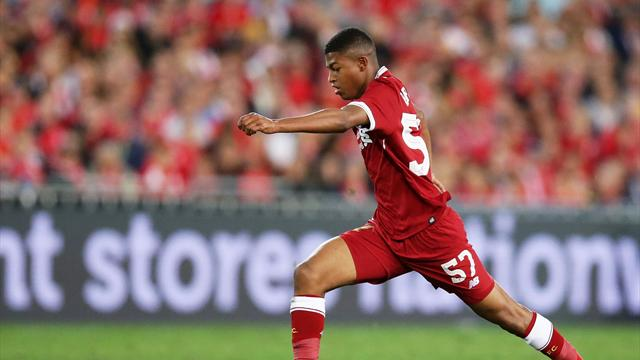 Liverpool striker Brewster hospitalised after U23 match injury
