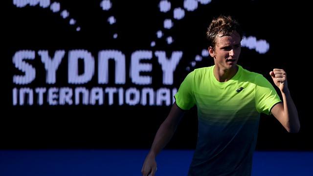 Medvedev fights back to beat De Minaur in Sydney final