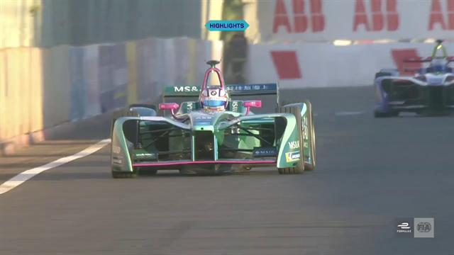 Formula E: Marrakesh ePrix FP1 highlights