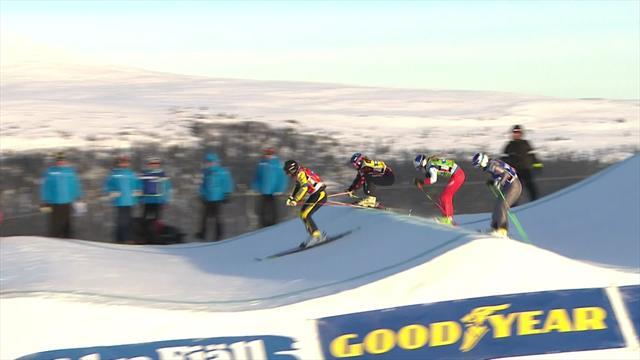 Naeslund claims Swedish hope win in ski cross