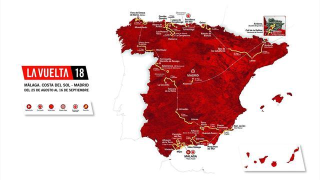 Les temps forts attendus sur la Vuelta 2018