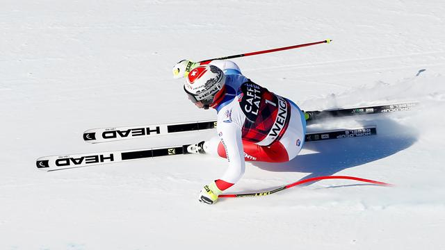 Feuz leads from front to win for second time at Wengen
