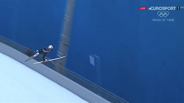 229 Meter: So schön segelt Stjernen am Kulm zur Führung
