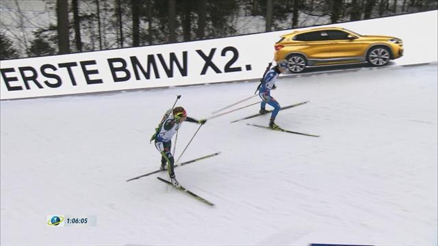 Germany win women's relay in Ruhpolding