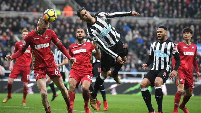 Swansea hold misfiring Newcastle to 1-1 draw
