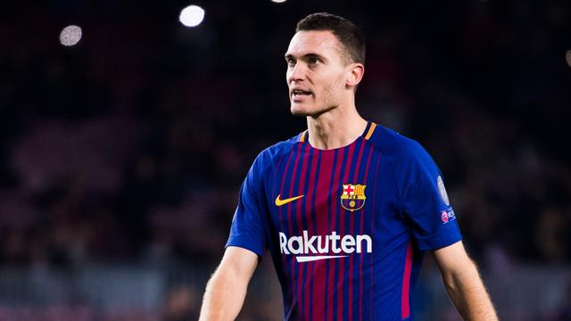 Vermaelen ruled out for a month as Barca hit by defensive crisis