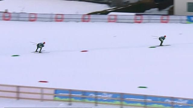 Nordic Combined - German 1-2 in Val di Fiemme