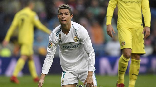 Ronaldo deluso dopo la sconfitta casalinga con il Villarreal