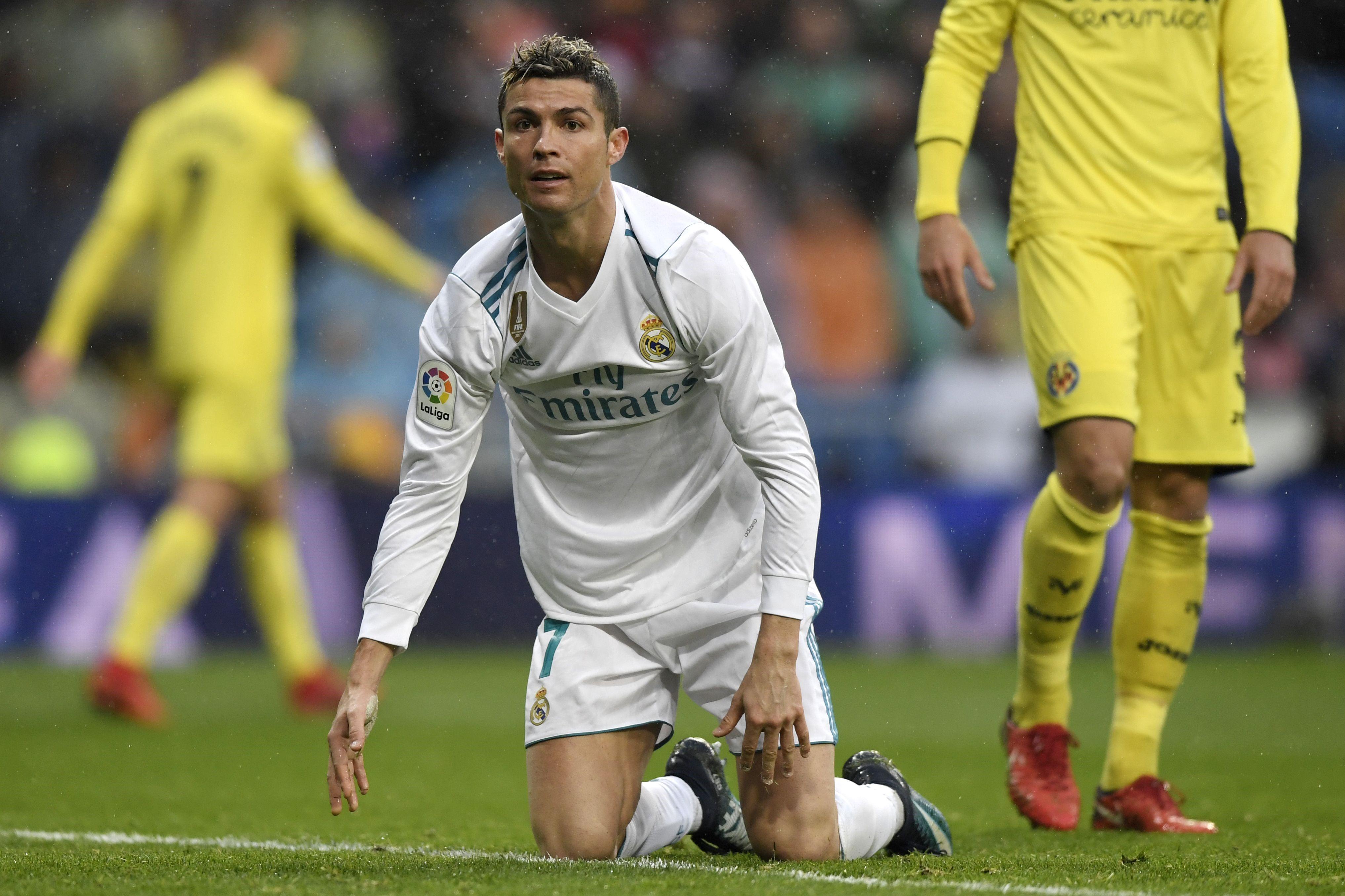 Криштиану Роналду в матче «Реал» – «Вильярреал»