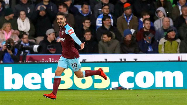 West Ham United hit four past Huddersfield Town